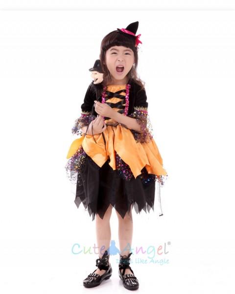 Halloween Girl Performance Clothing Girls Costume Ball Costume Children's pettiskirt