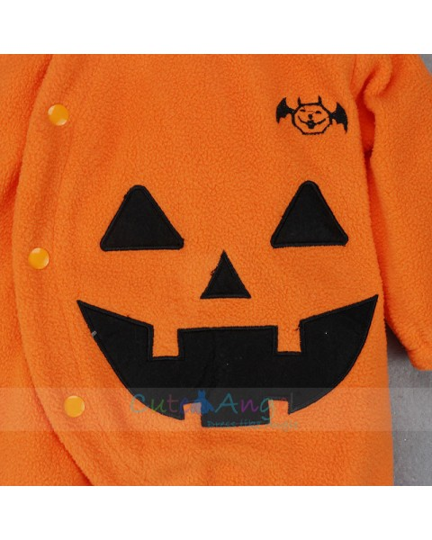 Hot Sale Fall and Winter Cothes Halloween Children's Clothing Baby Clothes Halloween Pumpkin baby Onesies