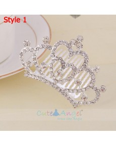Fashion Princess Crystal Headpieces Crowns Hair Accessories