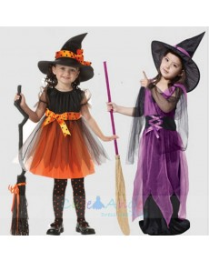2018 Halloween Cute Witch - Child Costume