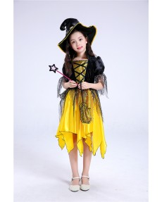 Halloween Little Witch Party Performance Costume