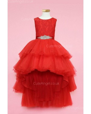 Girls Dress Style 0624318 Ruby Ankle Length Beading Bateau A-line Dress in Choice of Colour