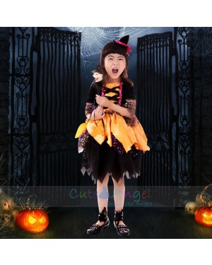 Halloween Girl Performance Clothing Girls Costume Ball Costume Children's pettiskirt